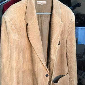 Perry Ellis corduroy sport jacket